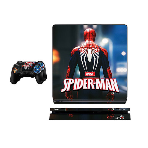 PS4 Slim Spider-Man #2 Skin For PlayStation 4