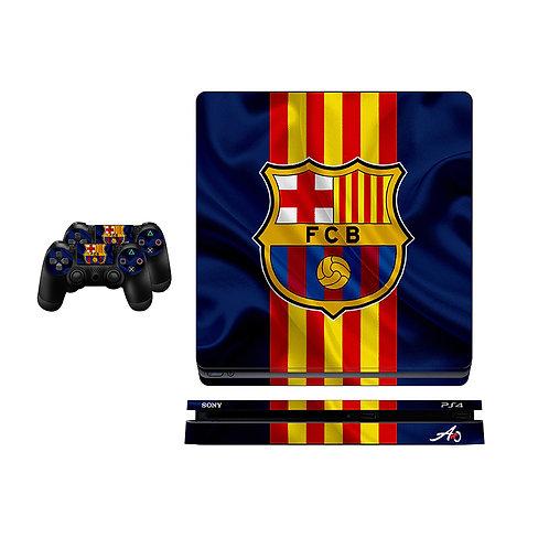 PS4 Slim FC Barcelona #5 Skin For PlayStation 4