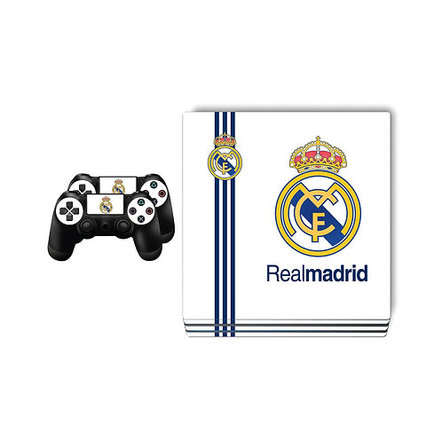 PS4 Pro Real Madrid CF #1 Skin For PlayStation 4