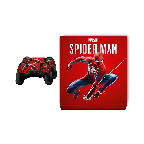 PS4 Pro Spider-Man #3 Skin For PlayStation 4