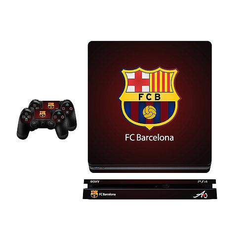 PS4 Slim FC Barcelona #2 Skin For PlayStation 4