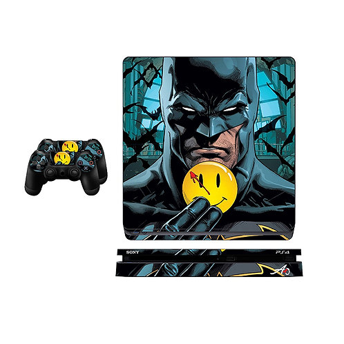 PS4 Slim Batman #3 Skin For PlayStation 4