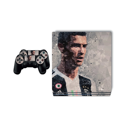 PS4 Pro CR7 #5 Skin For PlayStation 4
