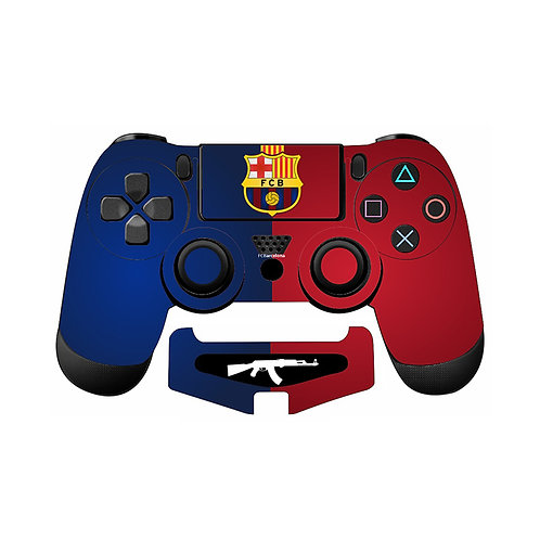 PS4 F.C Barcelona #1 Skin For PlayStation 4 Controller