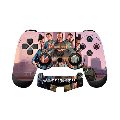 PS4 GTA Skin For PlayStation 4 Controller