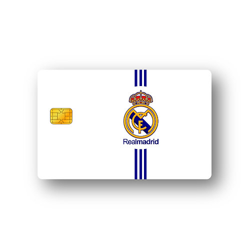 Real Madrid C.F. #1 Debit Or Credit Card Skin Sticker