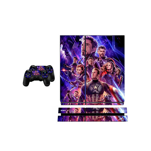 PS4 Standard The Avengers  Skin For PlayStation 4