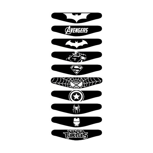 10X PS4 Super Heros Light Bars Package PlayStation 4