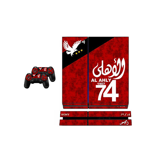 PS4 Standard Al Ahly SC #3 Skin For PlayStation 4