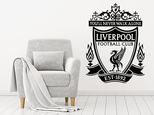 Liverpool FC Decal Wall Sticker