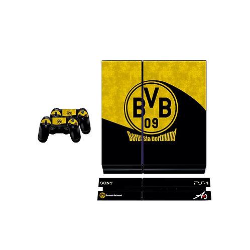 PS4 Standard Borussia Dortmund Skin For PlayStation 4