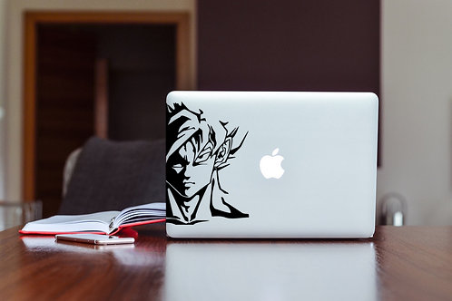 Dragon Ball Z #1 Decal Sticker For Laptop & MacBook