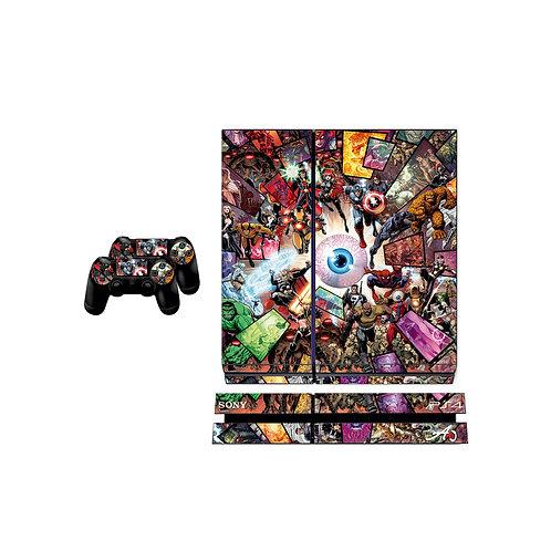 PS4 Standard Heros Skin For PlayStation 4