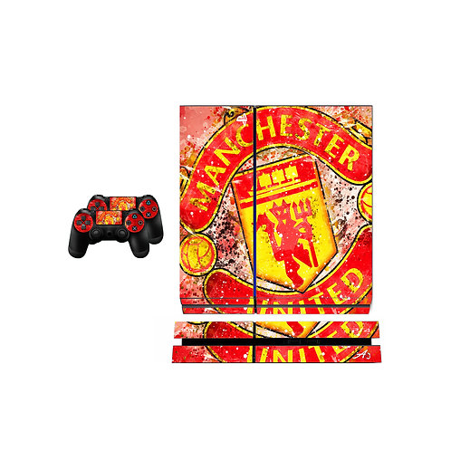 PS4 Standard Manchester United F.C. #1 Skin For PlayStation 4