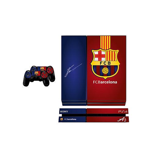 PS4 Standard FC Barcelona #1 Skin For PlayStation 4