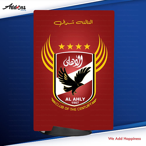 PS5 Digital Al Ahly SC #2 Skin For PlayStation 5