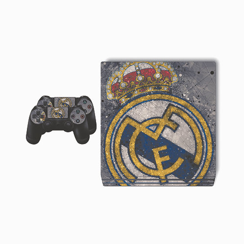 PS4 Pro Real Madrid CF #7 Skin For PlayStation 4