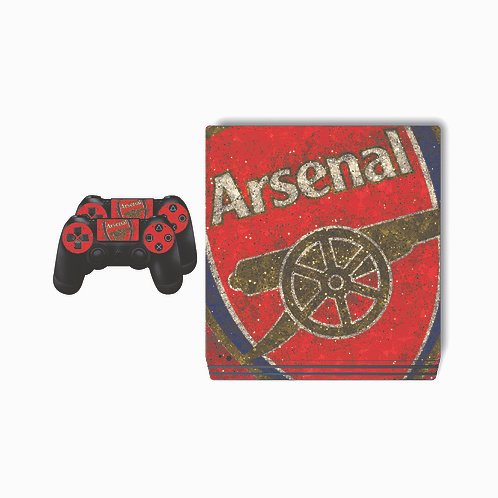 PS4 Pro Arsenal F.C. #1 Skin For PlayStation 4