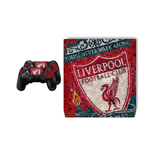 PS4 Pro Liverpool FC Skin For PlayStation 4