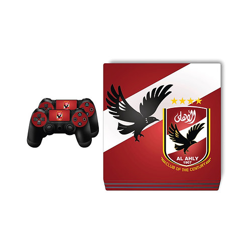 PS4 Pro Al Ahly SC #1 Skin For PlayStation 4