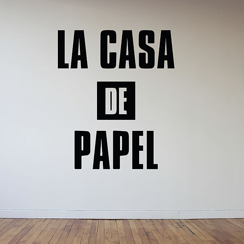 La Casa De Papel #2 Decal Wall Sticker