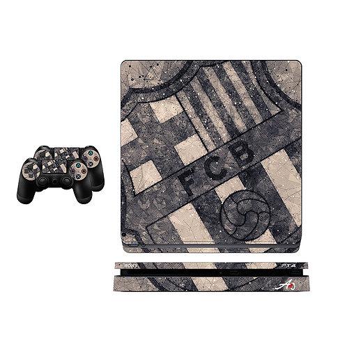 PS4 Slim FC Barcelona #6 Skin For PlayStation 4