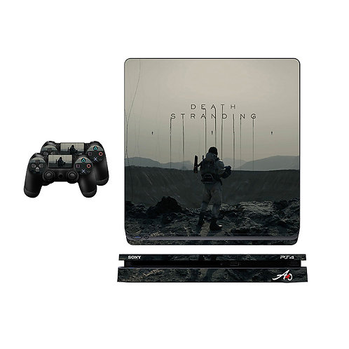 PS4 Slim Death Stranding Skin For PlayStation 4