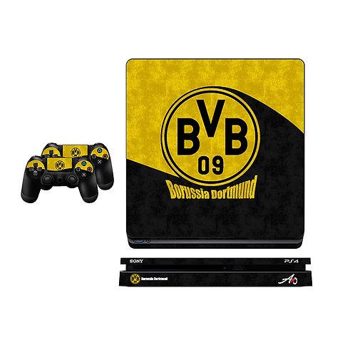 PS4 Slim Borussia Dortmund Skin For PlayStation 4