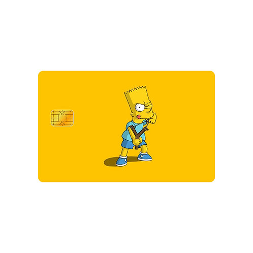 The Simpsons #2 Debit Or Credit Card Skin Sticker