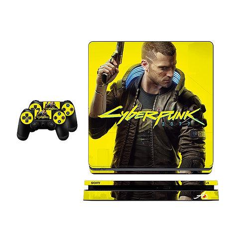 PS4 Slim Cyberpunk 2077 Skin For PlayStation 4