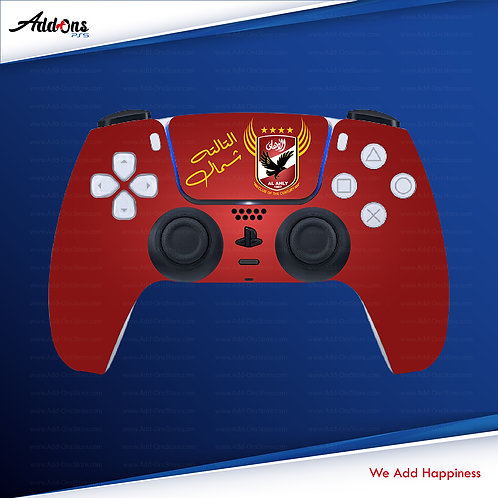 PS5 Controller Al Ahly SC #2 Skin For PlayStation 5