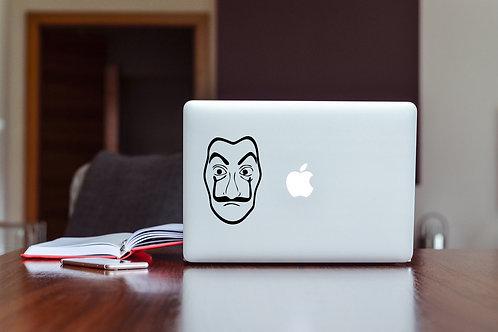 La Casa De Papel #2 Decal Sticker For Laptop & MacBook