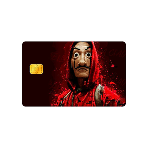 La Casa De Papel #1 Debit & Credit Card Skin Sticker