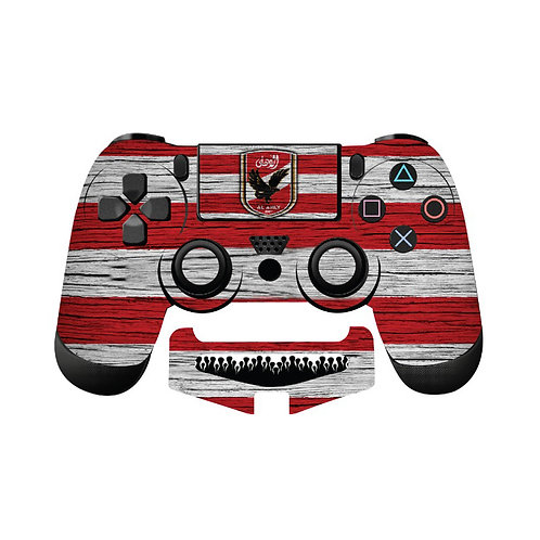 PS4 Al Ahly SC #4 Skin For PlayStation 4 Controller