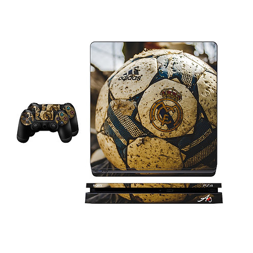 PS4 Slim Real Madrid CF #5 Skin For PlayStation 4