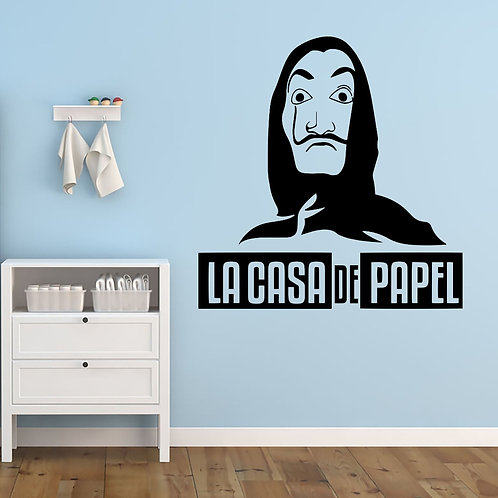 La Casa De Papel #1 Decal Wall Sticker
