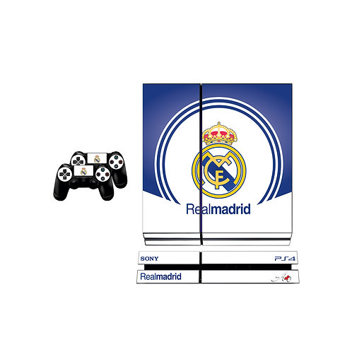 PS4 Standard Real Madrid CF #6 Skin For PlayStation 4