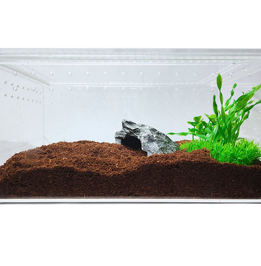 Acrylic Enclosure - Large Flat Clear Top