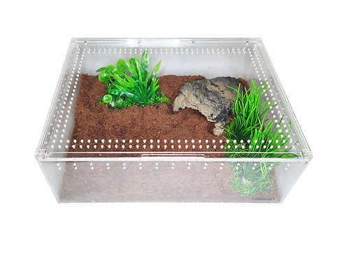 Acrylic Enclosure - XLarge Flat Clear Top
