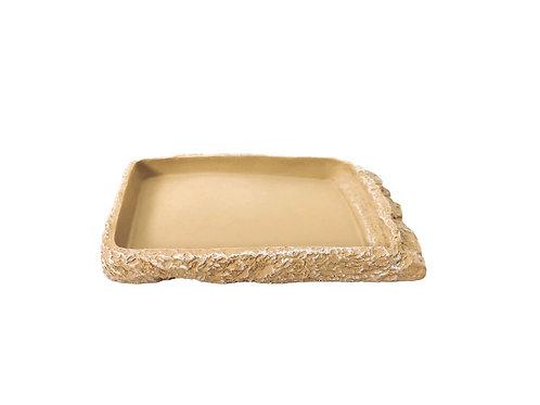 Flat Vanilla Reptile Bowl