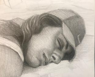 Lena Sleeping