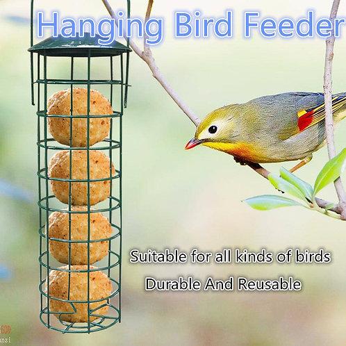 Mesh Hanging Outdoor Iron Bird Feeder