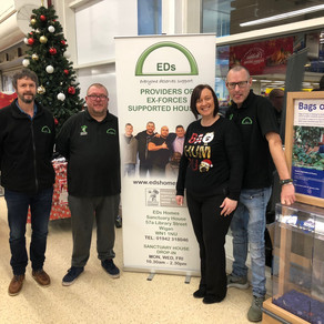 EDs raising awareness of our veterans services