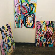 Communication between paintings