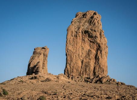 El Roque Nublo, escenario de la salida de la Transgrancanaria 360º