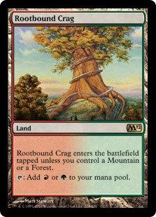 Rootbound Crag (Core Set 2012)