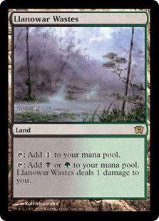Llanowar Wastes (Ninth Edition)