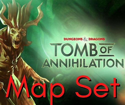 D&D Map - Tomb of Annihilation Map