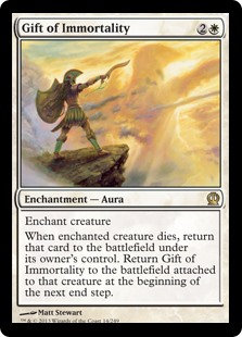 Gift of Immortality (Theros)