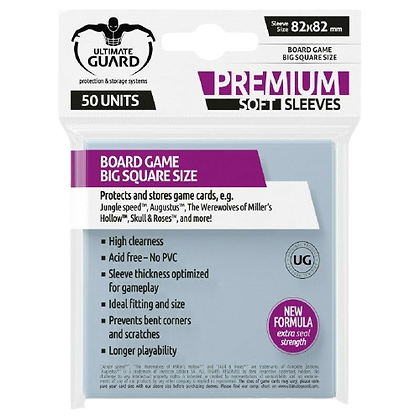 Ultimate Guard - Big Square Size Sleeves